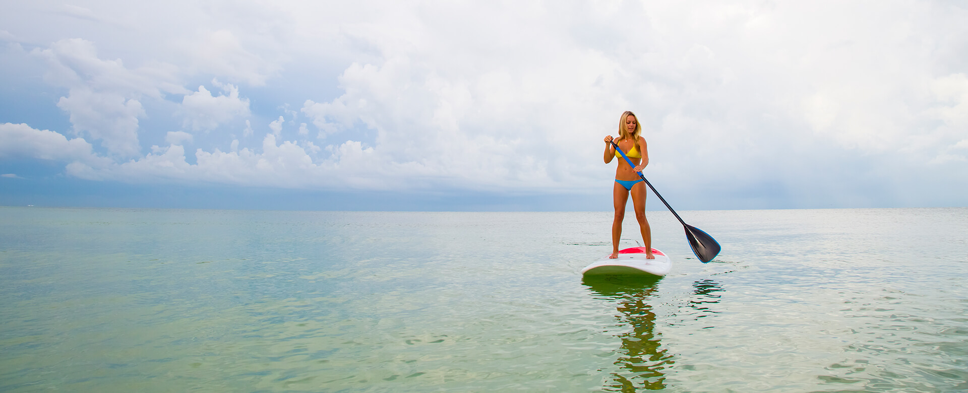paddleboarding in naples