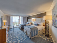 Two queen sized beds in the Signature Gulf View