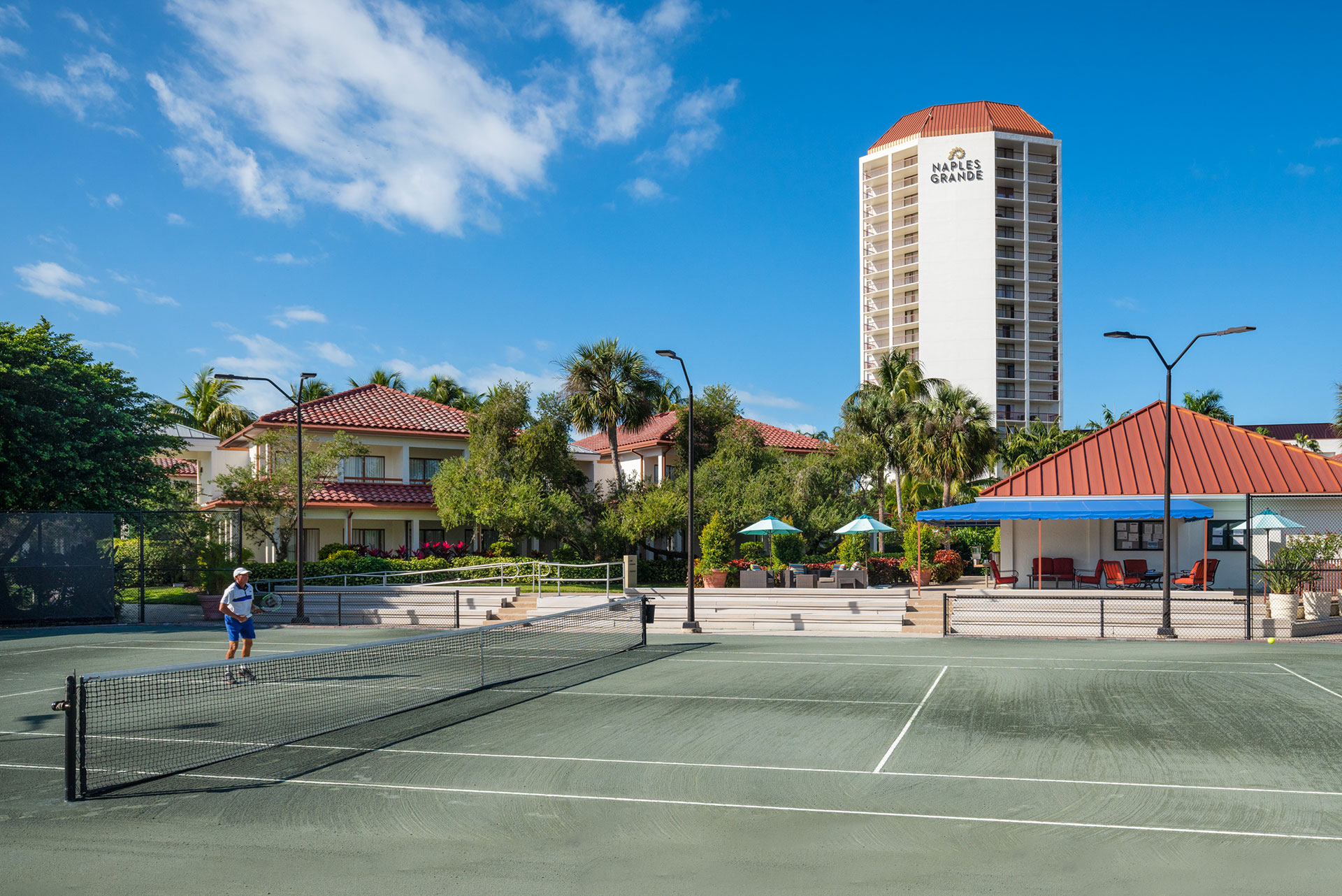 Naples Tennis Club | Florida Tennis Resort | Naples Grande