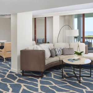 Gulfview Suite Living Room