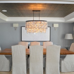 Dining room with seating for up to eight